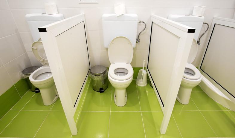 שירותים קטנים בגן ילדים (אילוסטרציה: kateafter   Shutterstock.com )