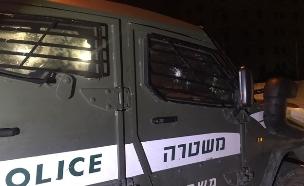 ניסיון פיגוע בגוש עציון (צילום: דוברות המשטרה)