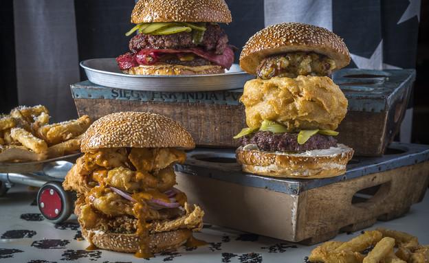 המבורגרים, גרינברג ביסטרו (צילום: אנטולי מיכאלו, יחסי ציבור)