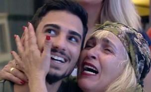"""אורלי ואליאב ב""""האח הגדול"""" (צילום: צילום מסך מתוך """"האח הגדול"""" רשת 13)"""
