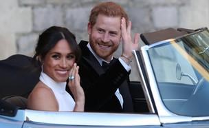 מייגן מרקל והנסיך הארי (צילום: מתוך עמוד הפייסבוק של kensingtonroyal)