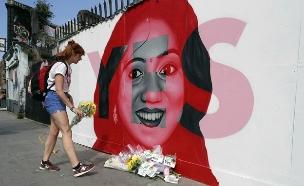 באירלנד הצביעו בעד הפלות (צילום: AP)