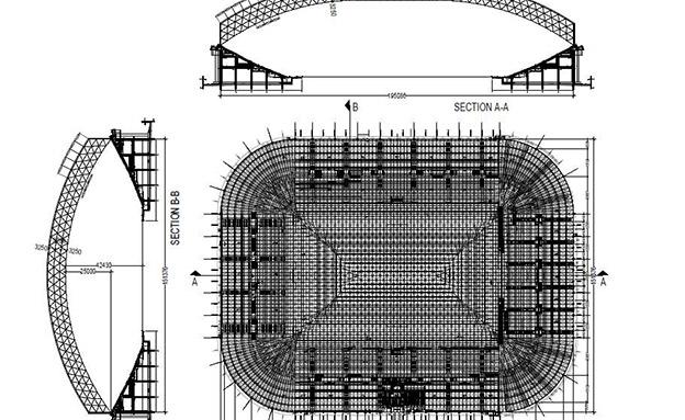 """תכנית לקירוי האצטדיון. עשרות מיליוני שקל (צילום: ד.ס. הרכבות בע""""מ)"""