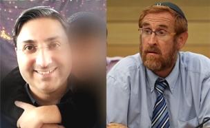 יהודה גליק וירון אטיאס סרבן הגט  (צילום: חדשות 2)