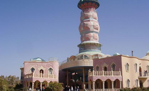 """בית האמנויות בנאות סמדר (צילום: ד""""ר אבישי טייכר, ויקיפדיה)"""