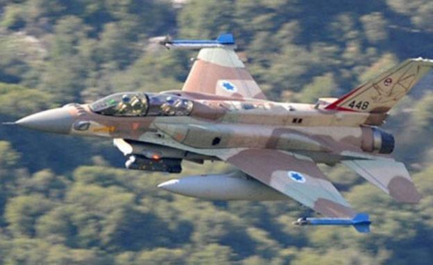 מטוס F-16, ארכיון (צילום: אתר חיל האוויר היווני)
