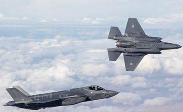 מטוסי F35 (צילום: חדשות 2)