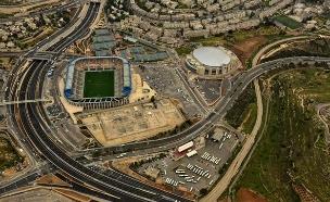 אצטדיון טדי. המועדף לאירוח האירוויזיון (צילום: משטרת ישראל)