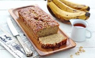 עוגת בננות ומייפל (צילום: ענבל לביא, אוכל טוב)