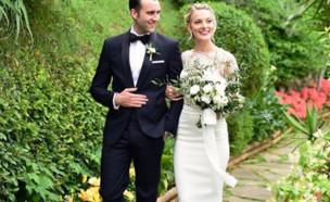 מת'יו לואיס התחתן (צילום: mattdavelewis instagram)