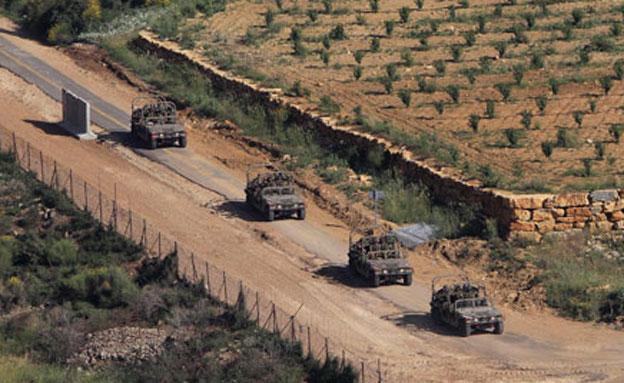 """כוחות של צה""""ל בגבול סוריה, ארכיון (צילום: רויטרס)"""