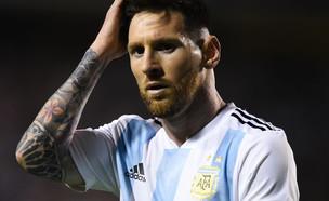 ליונל מסי במשחק נבחרת ארגנטינה נגד האיטי (צילום: Marcelo Endelli/Getty Images)