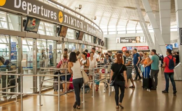 """שדה התעופה נתב""""ג (צילום: Roman Yanushevsky, Shutterstock)"""