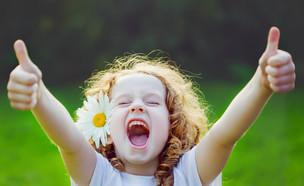 ילדה שמחה (אילוסטרציה: Yuliya Evstratenko, shutterstock)