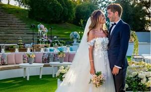 החתונה של קורל סימנוביץ' וסרג'י רוברטו (צילום: אינסטגרם roberto_bartra )