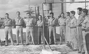 כך נראתה ההשבעה ב-1948 | צפו