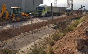 חומה בגבול עם לבנון