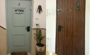 שדרוג דלת חנה שפירא (צילום: חנה שפירא)