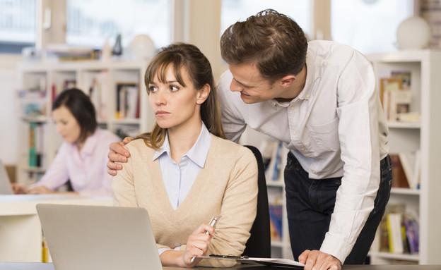 הטרדה מינית בעבודה (צילום: LDprod)