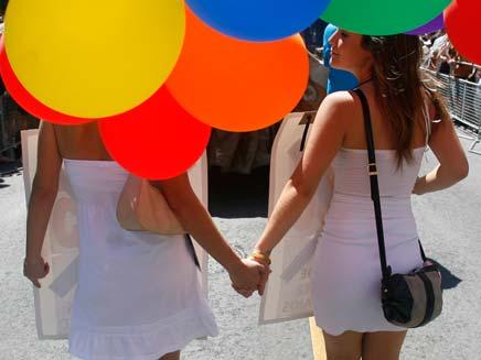 מצעד גאווה בירושלים (צילום: חדשות 2)