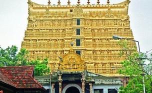 מקדש הודי (צילום: Twitter/Zeenews)