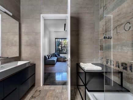 בית בשפלה, מעצב הפנים ניצן הורוביץ, חדר רחצה (55) (צילום: עודד סמדר)