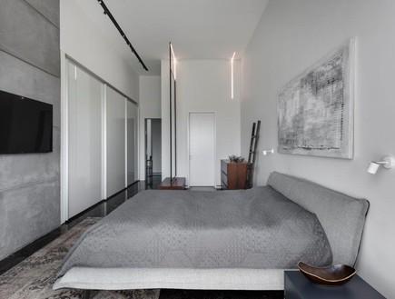 בית בשפלה, מעצב הפנים ניצן הורוביץ, חדר שינה (48) (צילום: עודד סמדר)