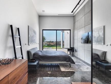בית בשפלה, מעצב הפנים ניצן הורוביץ, חדר שינה (50) (צילום: עודד סמדר)