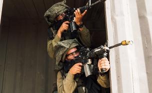 """צפו: אימון השיא של קציני העתיד (צילום: דובר צה""""ל)"""