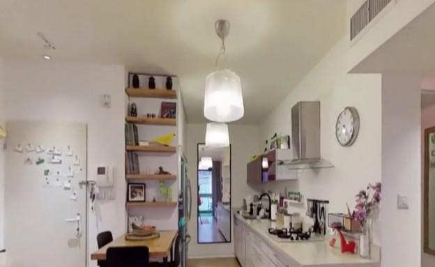 """הדור הבא של התיווך: סיור בתלת מימד בדירות (צילום: מתוך """"נקסט"""", קשת 12)"""