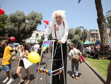 מצעד הגאווה 2018 (צילום: עופר חן)