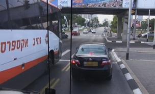 נתיב תחבורה ציבורית, ארכיון (צילום: עזרי עמרם)