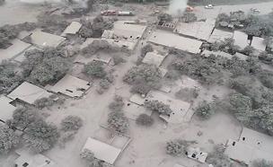 כך נראה החורבן מהאוויר (צילום: AP, חדשות)