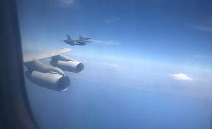 """צפו: אימון חיל האוויר בשמי יוון (צילום: דובר צה""""ל, חדשות)"""