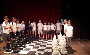 טורניר השחמט בהבימה, אמש (צילום: ליאור אייזנברג, חדשות)