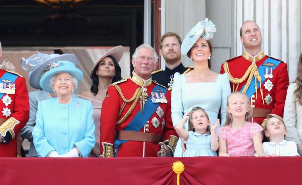מייגן מרקל והמלכה (צילום: Chris Jackson, GettyImages IL)