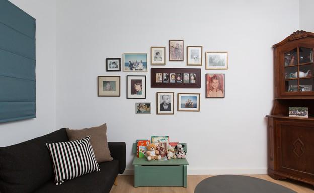 משפחת עזר, עיצוב אלברט אסקולה, חדר אורחים (18) (צילום: שירן כרמל)