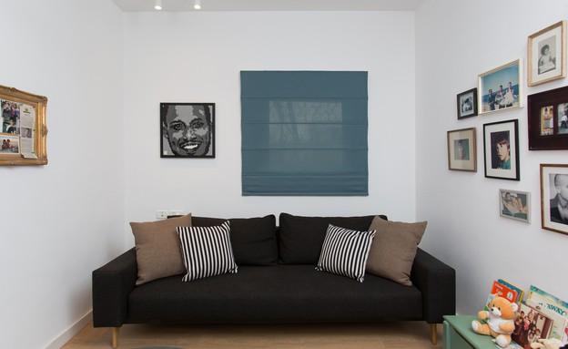 משפחת עזר, עיצוב אלברט אסקולה, חדר אורחים (20) (צילום: שירן כרמל)