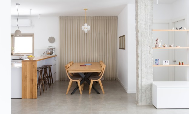 משפחת עזר, עיצוב אלברט אסקולה, מטבח (10) (צילום: שירן כרמל)