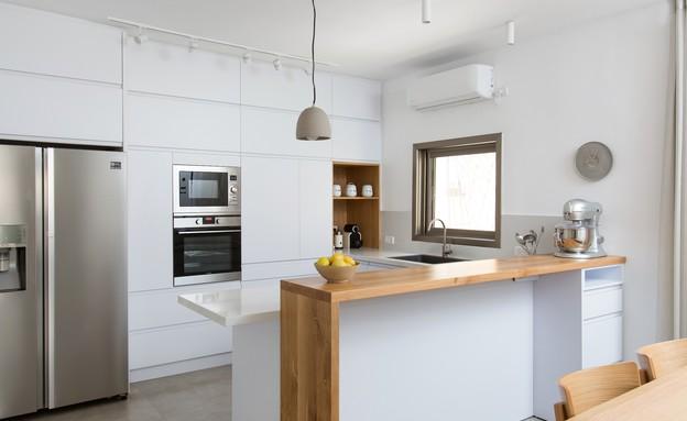 משפחת עזר, עיצוב אלברט אסקולה, מטבח (11) (צילום: שירן כרמל)