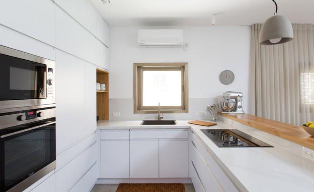 משפחת עזר, עיצוב אלברט אסקולה, מטבח (12) (צילום: שירן כרמל)
