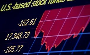 ירידות שערים בבורסה בניו יורק (צילום: רויטרס, חדשות)