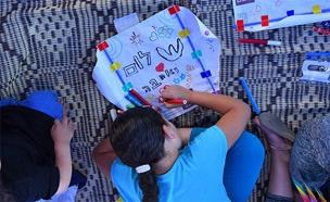 סדנת העפיפונים בשדרות (צילום: תמיר חסון - דיימונד צילום, חדשות)