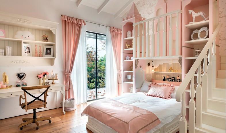 חדר מהאגדות, עיצוב קרן ניב טולדנו, מיטה - 10 (צילום: עמית גושר)