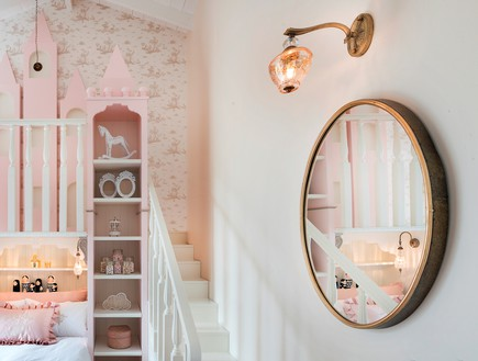 חדר מהאגדות, עיצוב קרן ניב טולדנו, מיטה - 15 (צילום: עמית גושר)