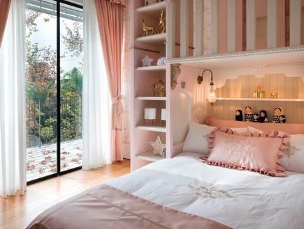 חדר מהאגדות, עיצוב קרן ניב טולדנו, מיטה - 16 (צילום: עמית גושר)