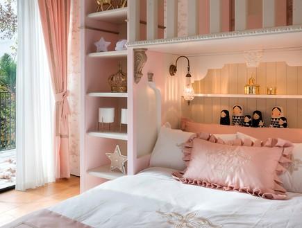 חדר מהאגדות, עיצוב קרן ניב טולדנו, מיטה - 17 (צילום: עמית גושר)