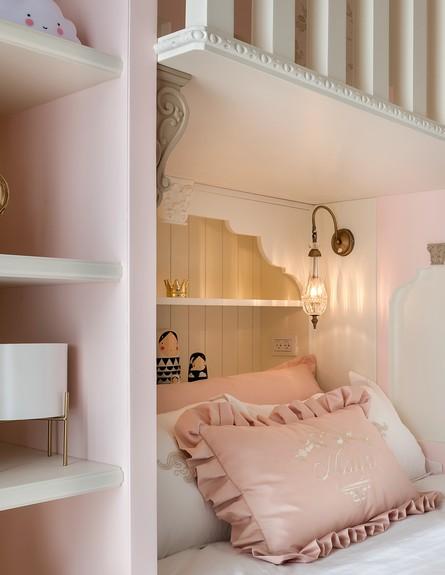חדר מהאגדות, ג, עיצוב קרן ניב טולדנו, מיטה - 7 (צילום: עמית גושר)