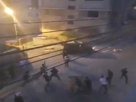 תקיפת החיילים ברמאללה