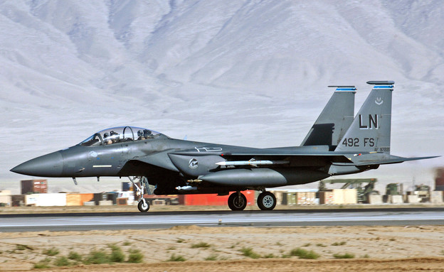 F-15 אמריקאי (צילום: Boeing)